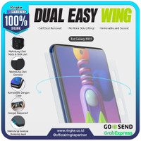 Ringke Galaxy M51 Dual Easy Wing Full Screen Protector Anti Gores
