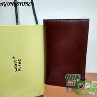 Dompet HH1470 dompet pria wanita tanggung 34 kulit asli merk MB