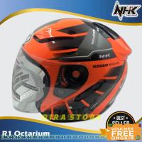 helm half face/Helm NHK Motor SNI Half Face Helem Dewasa Double Visor5