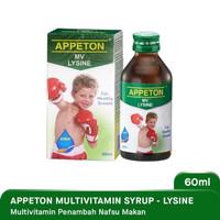 Appeton Multivitamin Syrup 60ml - Lysine