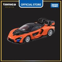 Tomica Premium #14 McLaren Senna (Orange)