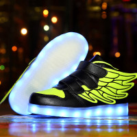 USB arging LED Shoes Kids Shoes Boy Baby Fashion Gift Sneakers