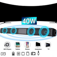 Sound Bar Bluetooth Wireless Subwoofer Speaker TV Soundbar Super