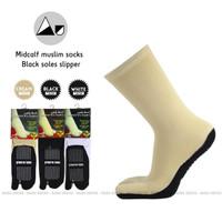 Kaos kaki jempol anti slip telapak hitam itjihad wa taqwa - Putih