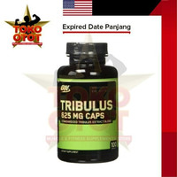 ON Tribulus 625 Mg isi 100 Capsules Optimum Nutrition Authentic Diskon