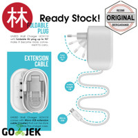 XV137 Uneed UCH110 Smart Travel Charger Fast Charging 3 USB Port