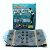 NC663 slimming magnetic belt and massage NIKITA