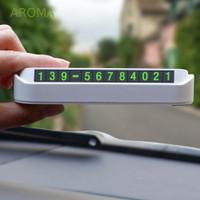 Plat Nomor Plat Nomor Telepon Parkir untuk Aksesoris Mobil