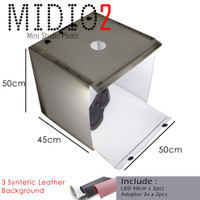 TU069 MagicBox Midio 2 Portable Mini Photo Studio Light Box 50x50x45cm