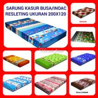 Cover kasur Busa/Inoac ukuran 200x120 Tebal bervariasi - 200x120x