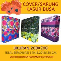 cover sarung kasur busa inoac uk 200x200 - 200x200x5