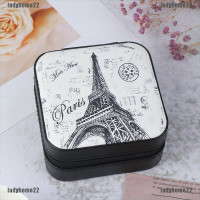 Kotak Penyimpanan Perhiasan Cincin Mini Bahan Kulit Untuk Travel
