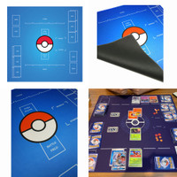 Pokemon Cards Trading Card Game Play Mat Toys For Boys And Girls M101