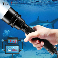 Albinaly Senter LED Scuba Dive Waterproof 200M T6 - TG-S151