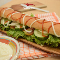 Roti Longjohn 40 Cm Makanan Beku