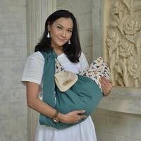 Promo - MOM& 39 S BABY Gendongan Samping Bayi Plus Apron Othello