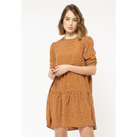 Colorbox Polkadot Mini Dress I:Diwkey220L025 Brown