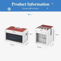 WONDERFULL Mini USB Air Cooler Portable Air Conditioner humidifier