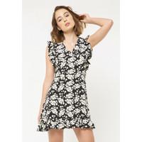 Colorbox Flare Dress I:Diwfcr220L010 Black