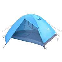 PROMO Tenda camping outdoor hiking 210D 2/3P double layer Desert&Fox