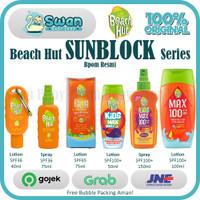 Sunblock Anak & Dewasa Beach Hut | Sunscreen Wajah Badan Bahan Organik