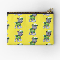 Pouch Bag Custom Paw Patrol Mighty Pups Chase Marshall Pattern