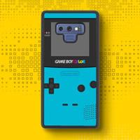 Game Boy Color FF0447 Samsung Galaxy Note 9 Casing Case
