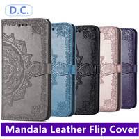Samsung Galaxy A42 5G A51 M51 S20 FE Mandala Leather Cover PU Wallet
