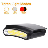 TaffLED Senter Clip-on Topi Headlamp Cap LED COB M1800