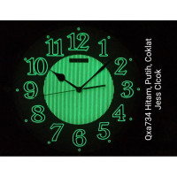 Qxa734 Jam dinding seiko Glow in the dark & Sweep / silent