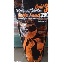 TQ ams american selection gold 35 daily food 2nd step pakan murai kasa