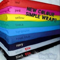 Hanaroo Simple Wrap 2 in 1 gendongan bayi baby wrap instan kaos geos