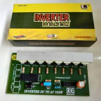 Kit Inverter 12v dc to 220v ac 750watt