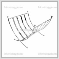 Krisbow Rak Majalah 32x32x30 Cm - Silver