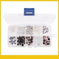 TYS 200Pcs 10-Types Tactile Push Button Touch Micro Switch Button Remo