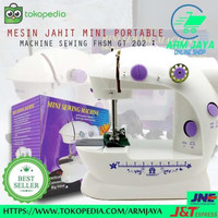Harga Hemat Peralatan Ibu Rumah Tangga Mesin Jahit Kecl Mini Machine