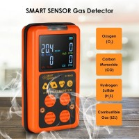 Digital Gas Detector O2 H2S CO LEL 4 in 1 Smart Sensor ST8900 ST-8900