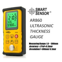 Ultrasonic Thickness Gauge Tester Ketebalan Smart Sensor AR860 AR-860