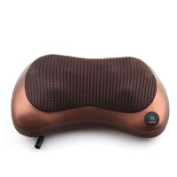 RUOKEY Bantal Pijat Shiatsu Heat Neck Massage Pillow 8 Head 1 Button