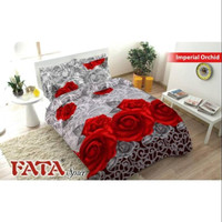 TRENDY Bedcover Fata Signature 4d Imperial Orchid Size King/Queen -