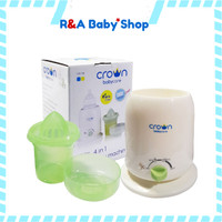 CROWN WARMER PENGHANGAT PEMANAS STERILIZER BOTOL SUSU ASI BAYI CROWN