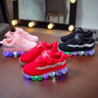 Sepatu anak/Baby boy girl 2019 new autumn children LED luminous