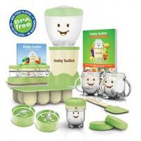 Magic Baby Bullet Food Processor Set Peralatan Makan Bayi
