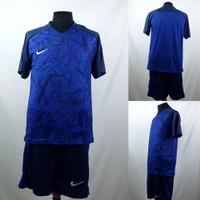 Setelan Baju/Kaos Sepak Bola/Futsal Dri-Fit Print Dewasa Nike Benhur