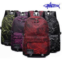 BMD Smartfish BackPack Tas Ransel Laptop Fashion