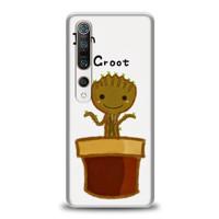 Casing Xiaomi Mi 10 I Am Groot Baby Flower M00229
