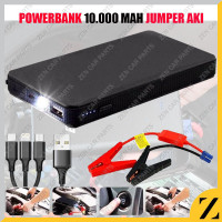 Power Bank Portable 10.000 Mah Jumper Aki Mobil Mini 5-Door