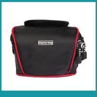 Sos Compact Dslr Camera Case Bag With Strap For Canon Nikon