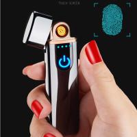 Firetric Korek Api Elektrik Fingerprint Touch Sensor Black