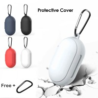 Silicone Case Cover for Samsung Galaxy Buds - Plus with Keychain